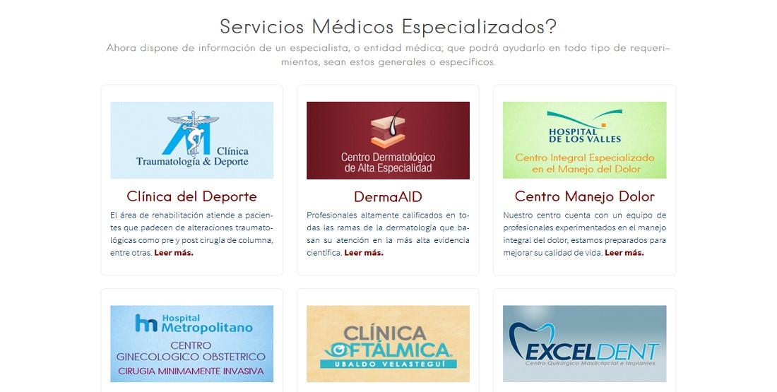 Medical Platinum Contenido 5 Directorio Médico Quito Guayaquil Ecuador